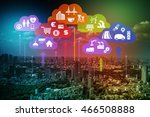 cps concept abstract image ... | Shutterstock . vector #466508888