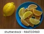 lemon marmalade   Shutterstock . vector #466510460