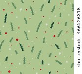 seamless christmas pattern | Shutterstock .eps vector #466526318