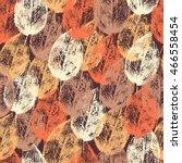 Autumn Stamp Imprint Leaves ...