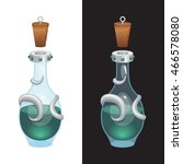 game icon of green elixir in...