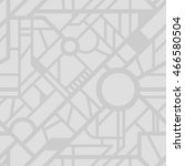 vector city map pattern.... | Shutterstock .eps vector #466580504