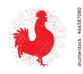 Rooster Red Label. Vintage...