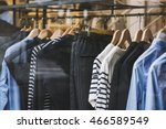 Stock photo women clothing store in milan italy 466589549