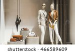 clothing store | Shutterstock . vector #466589609