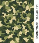 digital fashion camouflage...   Shutterstock .eps vector #466601744