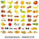 fruits on white   Shutterstock . vector #46661119