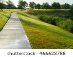path at a park | Shutterstock . vector #466623788