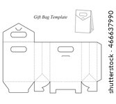Blank Box Template With Lid