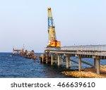 construction of traffic artery... | Shutterstock . vector #466639610