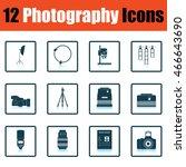 photography icon set. shadow...