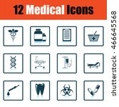 medical icon set. shadow...