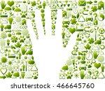 ecological symbols | Shutterstock . vector #466645760