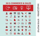 e commerce   sales icons | Shutterstock .eps vector #466653944