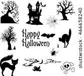 set of vector illustrations.... | Shutterstock .eps vector #466658240
