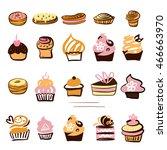 set of element design for... | Shutterstock .eps vector #466663970