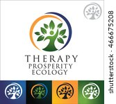 therapy prosperity ecology... | Shutterstock .eps vector #466675208