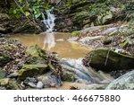 wild forest stream | Shutterstock . vector #466675880