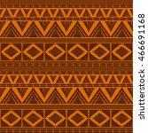 tribal pattern vector seamless. ... | Shutterstock .eps vector #466691168