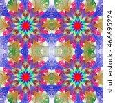 multicolored seamless...   Shutterstock . vector #466695224