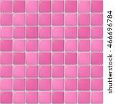 vector seamless pattern of pink ... | Shutterstock .eps vector #466696784