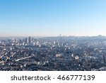 paris cityscape and skyline on... | Shutterstock . vector #466777139