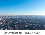 paris cityscape and skyline on... | Shutterstock . vector #466777184