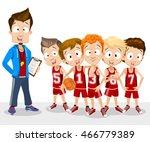 cartoon vector illustration of... | Shutterstock .eps vector #466779389