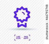 medal isolated minimal single...   Shutterstock .eps vector #466792748