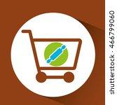 shopping rolling pin  fresh... | Shutterstock .eps vector #466799060