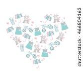 vector illustration in the... | Shutterstock .eps vector #466804163