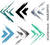 cute vector geometric seamless...   Shutterstock .eps vector #466838954
