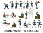 cartoon illustration of a... | Shutterstock .eps vector #466851833