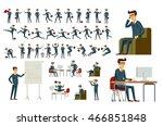 cartoon illustration of a... | Shutterstock .eps vector #466851848