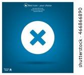 medical cross icon | Shutterstock .eps vector #466866890