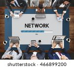 network software upgrade... | Shutterstock . vector #466899200