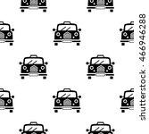 retro car. vector seamless... | Shutterstock .eps vector #466946288