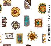 set of african designs. pattern ...   Shutterstock .eps vector #466946333