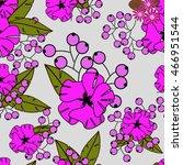 flowers | Shutterstock .eps vector #466951544