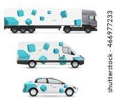 set of design templates for... | Shutterstock .eps vector #466977233