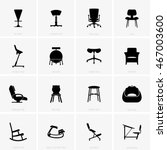 chairs | Shutterstock .eps vector #467003600