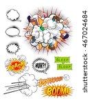 comic book pop art graphic... | Shutterstock .eps vector #467024684