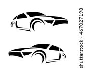 car silhouettes.icons vector | Shutterstock .eps vector #467027198