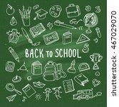 concept of education. school...   Shutterstock .eps vector #467029070