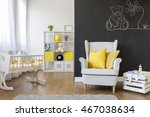 comfortable armchair for mum in ... | Shutterstock . vector #467038634