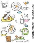 drawing menu   Shutterstock .eps vector #467056223