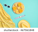 fashion. summer clothes... | Shutterstock . vector #467061848