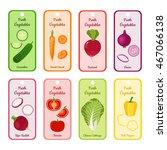 set of vector banners  blanks... | Shutterstock .eps vector #467066138