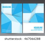 blue annual report.abstract... | Shutterstock .eps vector #467066288