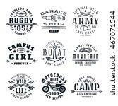 set of team sports ...   Shutterstock .eps vector #467071544